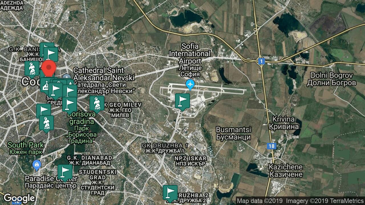 Letishe Sofiya Aeroport Samolet Telefon Ceni Za Noshuvki S Karta