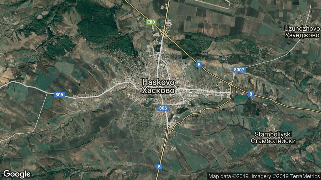Karta Na Haskovo