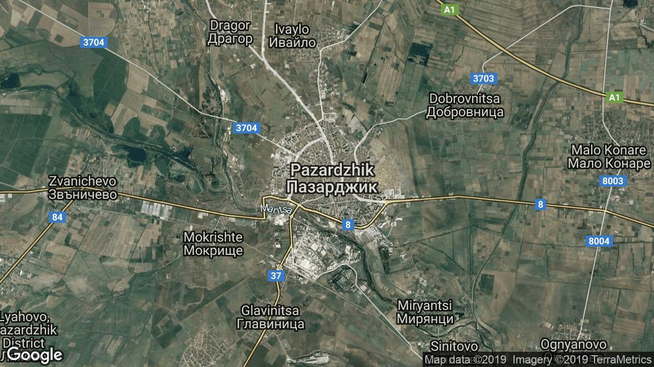 Karta Na Pazardzhik