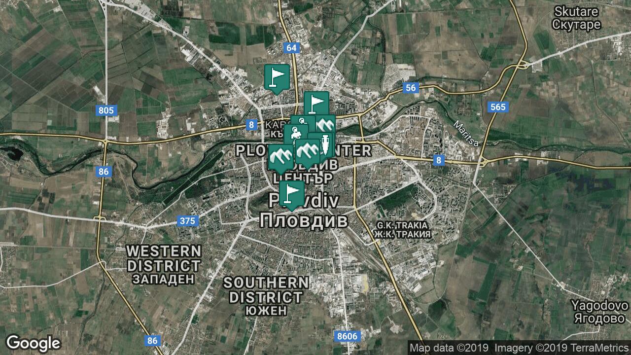 Karta Na Plovdiv
