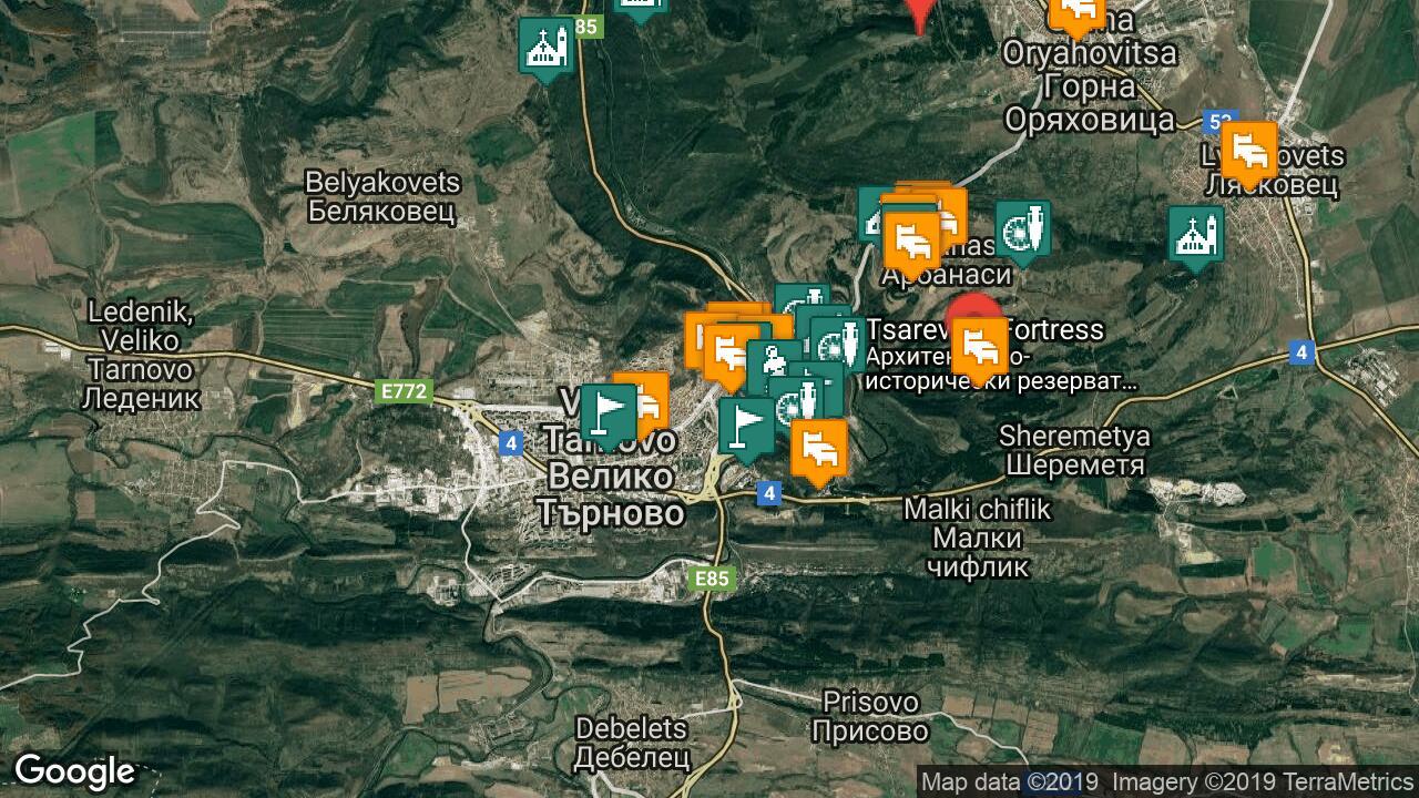 Karta Na Veliko Trnovo