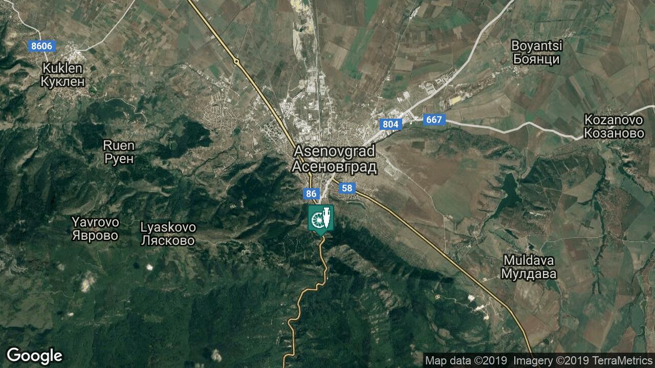 Karta Na Asenovgrad