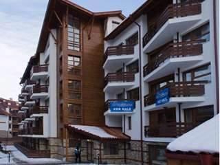 Нова Година със ски в Банско, 3 дни за двама в апартамент с ползване на басейн в Апарт-хотел Белмонт