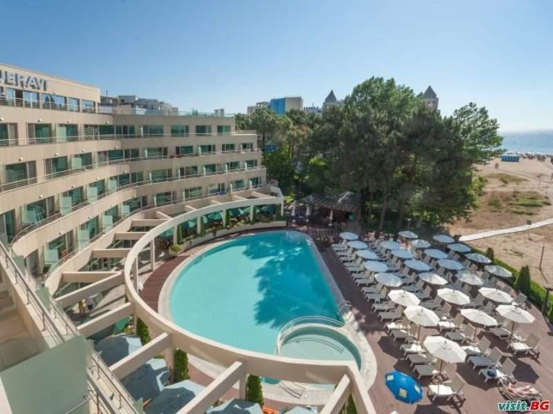 Спокойна ваканция до плажа в Слънчев бряг, All Inclusive до 03.07 и след 29.08 в Хотел Жерави Бийч