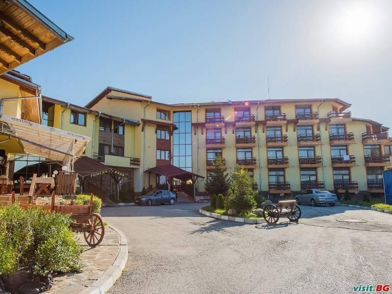 До Банско с 2 минерални басейна уикенд в хотел Римска Баня, стая за двама полупансион при две ношувки на ден